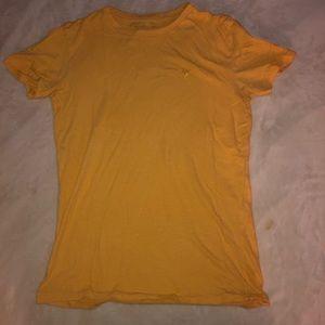 Yellow American Eagle Shirt